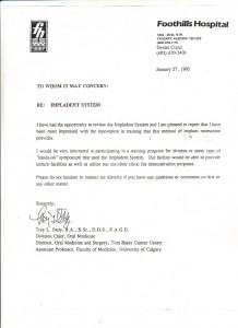 '95 Dr Petty letter of recommendation
