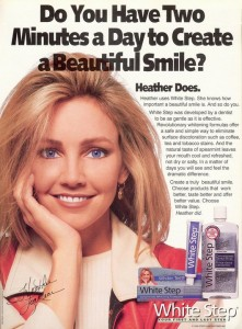'95 Heather dental ad