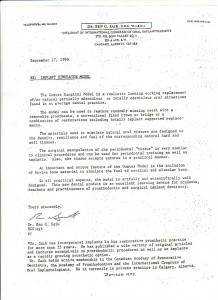 '96 Dr Saik letter of recommendation