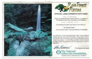 '96 Rain Forest Rescue